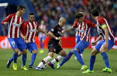 Simeone's Atletico Madrid cruise into Champions League quarter-finals