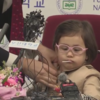 The daughter from family's viral BBC interview keeps stealing the show