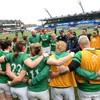 'I think Irish people in general like to be underdogs so it's not a bad position to be in'