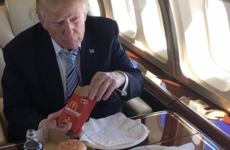 The McDonald's Twitter account tweeted at Donald Trump and his 'tiny hands'