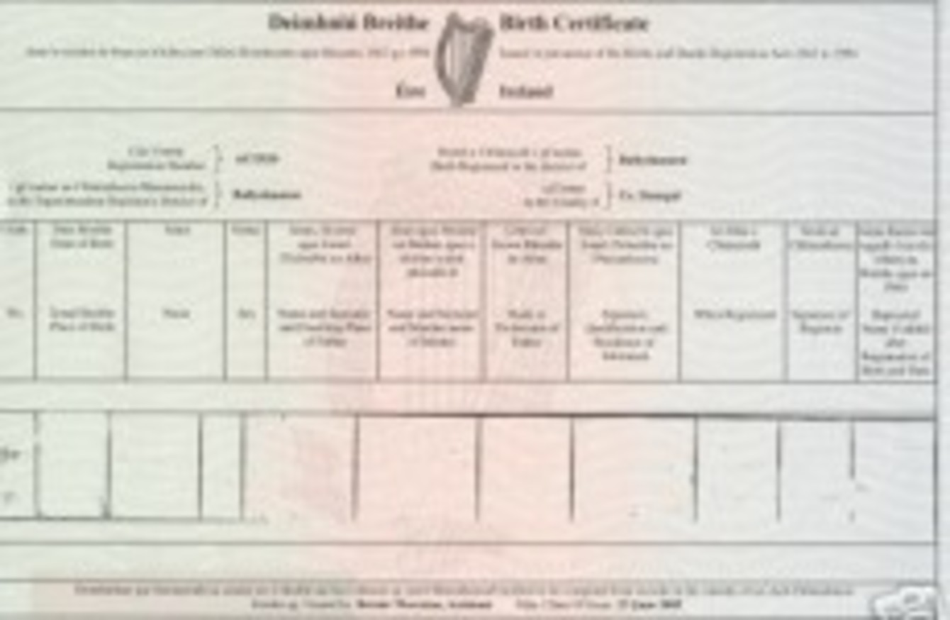 New Law May Make It Compulsory To Include Fathers Name On Birth Cert