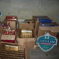 Cigarettes and counterfeit alcohol seized by Customs