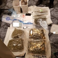 Man and woman in their 50s arrested after €200,000 worth of cocaine and cannabis found in house