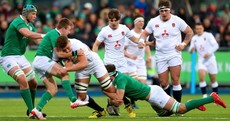 England hold on for U20 Grand Slam despite ferocious Irish effort