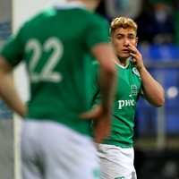Brilliant Larmour among the standouts for Ireland U20s in England defeat