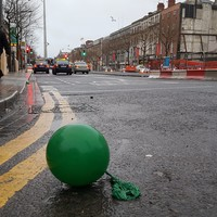 Dublin was showing all the signs of an epic hangover first thing this morning...