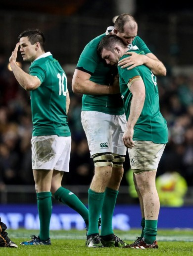 'Maybe a leprechaun tackled him': Heaslip injury a stroke of luck for Ireland, says Eddie Jones