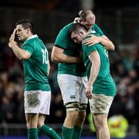 'Maybe a leprechaun tackled him': Heaslip injury a stroke of luck for Ireland, says Eddie Jones