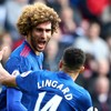 Fellaini on target as Man United move up to fifth