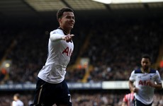 Dele Alli scores for 4th game on the trot as Spurs consolidate second