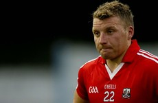 Hammer blow for Cork with the news Brian Hurley is unlikely to play again this season