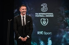 'The epitome of a street footballer': Robbie Keane celebrated and honoured at FAI awards