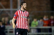 Derry City skipper Ryan McBride dies suddenly aged 27