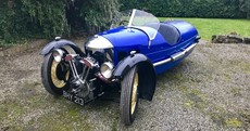 This pre-war Morgan 3 Wheeler is a classic from another age of motoring