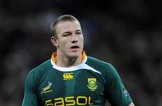 Springbok lock Deysel to arrive this week as Munster boosted by return of Irish trio
