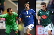 Three Irish players named in League Two TOTY and Hoolahan up for EFL goal of the year
