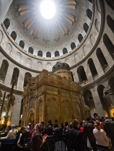 Tomb of Jesus Christ completes €3.7 million renovation
