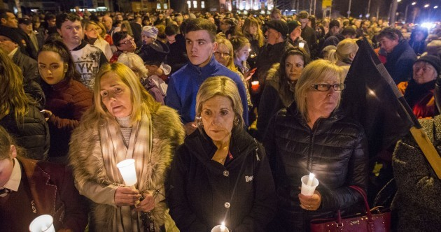 Large crowds turn out in Derry, Dublin and Belfast to remember Martin McGuinness