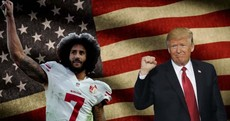 The quarterback, the President and the Divided States of America