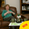 Angela and Eileen dressed up Michael Tea Higgins for Paddy's Day on Gogglebox last night