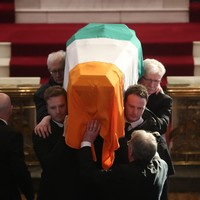 Love and respect as Martin McGuinness made his final journey through the town that loved him so well