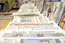 A vendor who spent 40 years selling papers in Dun Laoghaire could be forced to wheel away