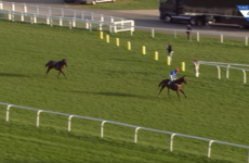 Jockey banned for 28 days after losing this race with a nightmare mistake