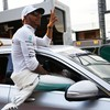 Hamilton back with a bang as he takes pole in season-opening Australian Grand Prix