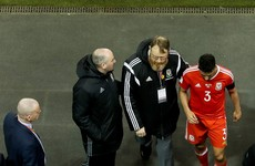 Wales's Taylor 'in bits' over Coleman injury
