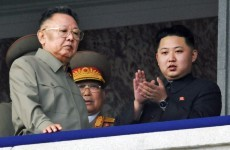 North Korean heir apparent appears in public alongside Kim Jong-Il