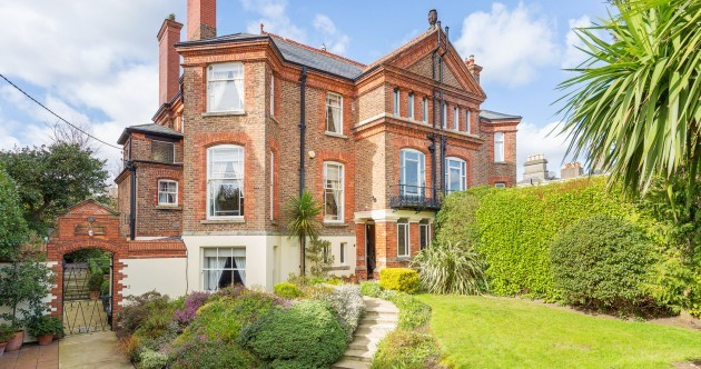 You could own a piece of architectural history with this magnificent Dublin redbrick
