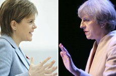 Theresa May is heading north for a Scottish independence showdown with Nicola Sturgeon