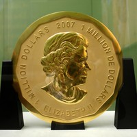 Thieves stole this massive gold coin worth one million dollars