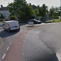 Female cyclist dies after being knocked off her bike by a lorry in Dublin 6 this afternoon