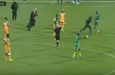 Ivory Coast v Senegal friendly abandoned after pitch invasion by fans in Paris