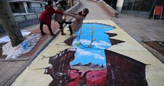 3D Street Painting of the Day