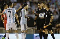 Massive blow to Argentina's World Cup qualification hopes as Messi handed four-game ban