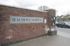 A small fire has broken out at Beaumont Hospital