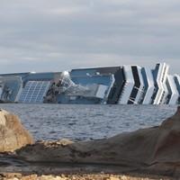 Costa Concordia: Search suspended as ship shifts
