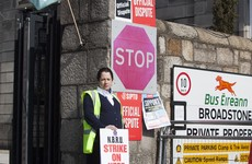Irish Rail and Dublin Bus could face delays as Bus Éireann strike comes to Leinster House