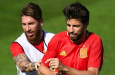 Ramos and Pique in verbal joust over 'Real Madrid's values' after Spain victory