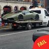 Is this Conor McGregor's swish Lamborghini getting towed in Dublin?