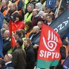 'We expected nothing more from the Blueshirts': Hundreds of bus drivers march through Dublin