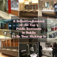 A definitive ranking of the top 9 public restrooms in Dublin to do your makeup in