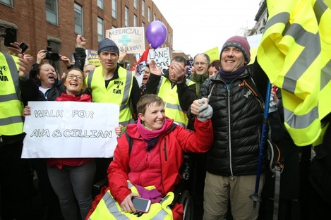 Vera Twomey and People Before Profit TD Gino Kenny