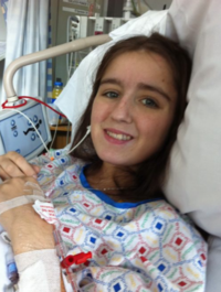 'After the transplant, I looked in the mirror and my eyes weren't yellow anymore, they were white'