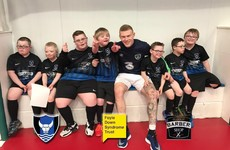 James McClean and his mates turn up to play team with Down Syndrome in need of a game