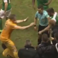 'He wants his square go, and I'll oblige him' - Neil Lennon involved in touchline bust-up