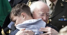 Cloud turns to light as Captain Mark Duffy makes his final journey