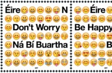 An Post has released stamps commemorating the emoji - no, really